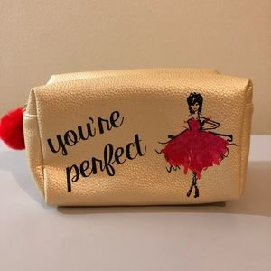 You're Perfect makeup bag